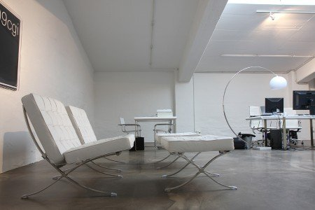 Design woonbeton op een werkplek